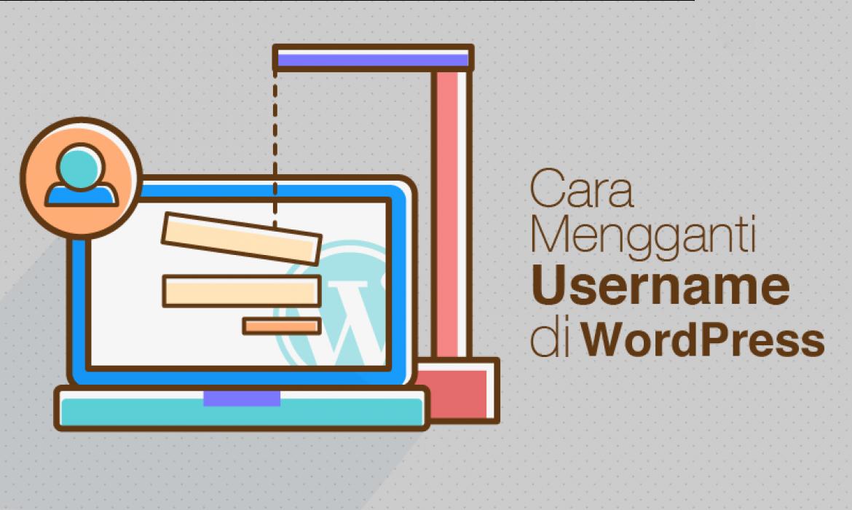 Cara Mengganti Username Wordpress