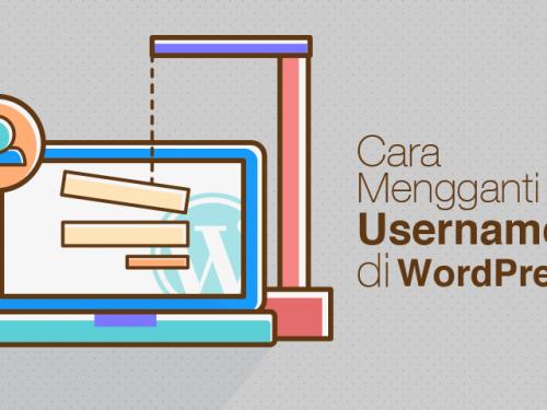 Cara Mengubah Username Di WordPress