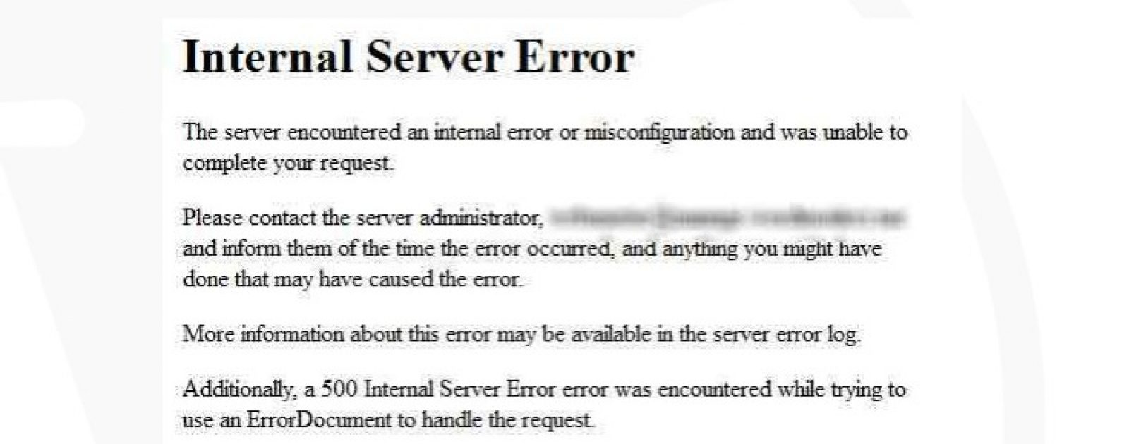 Mengatasi Internal Server Error   Jasa Pembuatan Website Terpercaya