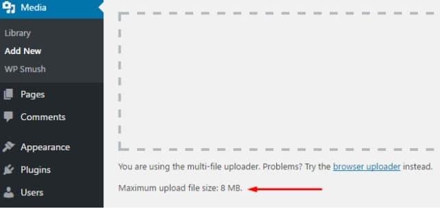 Cara Menambah Kapasitas Upload