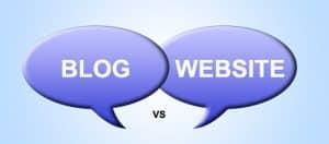 perbedaan web dan blog